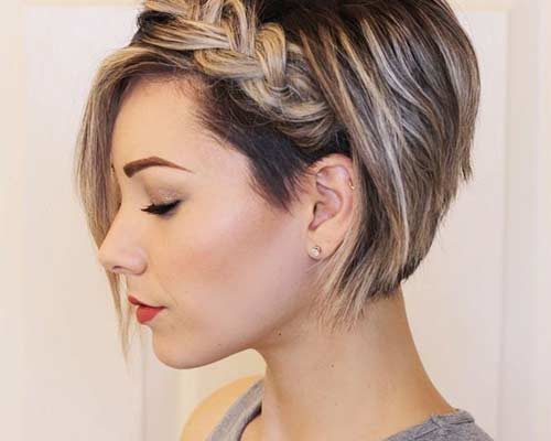 2019 Hairstyles For Round Faces: Short Hairstyles